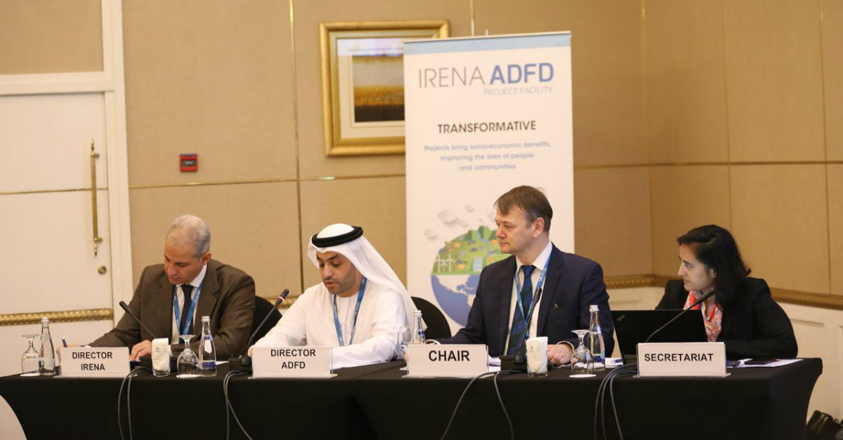 IRENA/ ADFD 7thCycle annoncement at 16th IRENA Counci