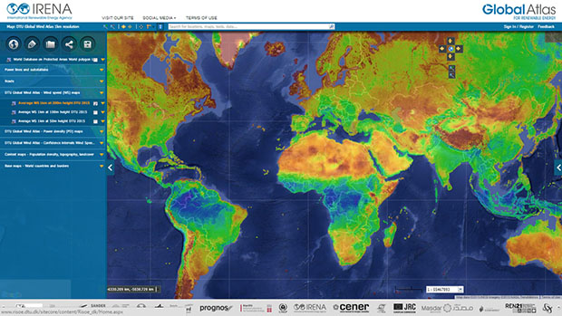 IRENA | IRENA and DTU Launch Worlds Most Detailed Wind