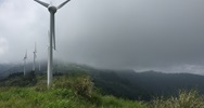 Wind farm in Costa Rica