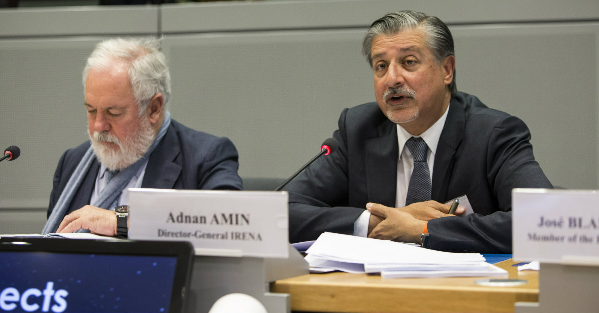 Director General of IRENA welcomes EU statement on renewable energy